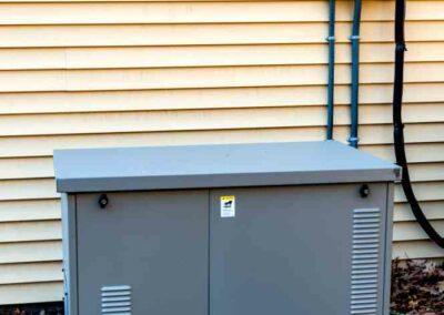 Gray Home Generator
